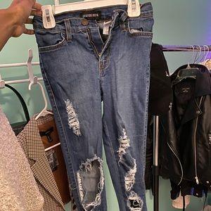 Fashion Nova Beach Bum Jeans